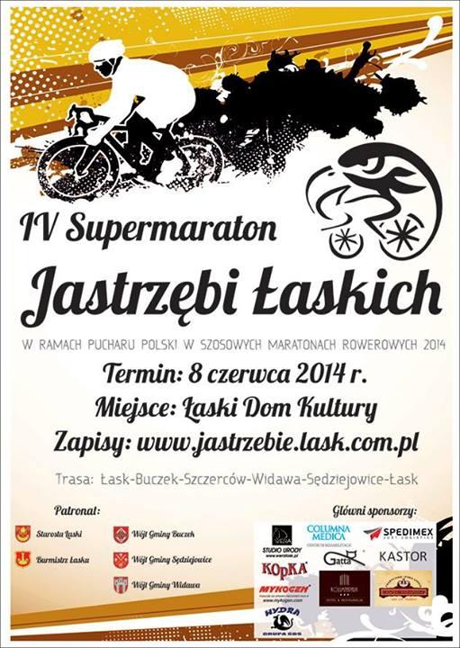 Supermaraton Jastrzębi Łaskich - Łask