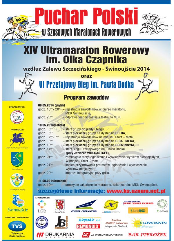 Ultramaraton im. Olka Czapnika - Świnoujście
