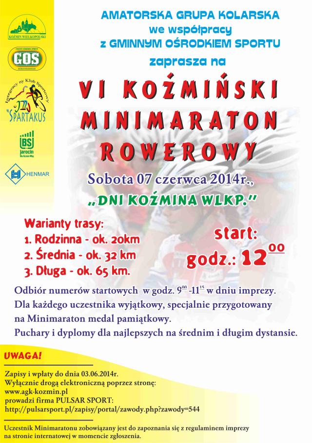 Koźmiński Minimaraton Rowerowy