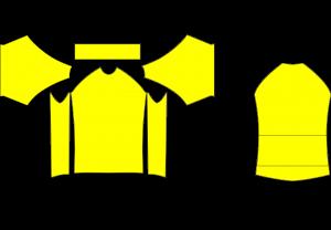 koszulka - szablon